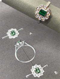 Emerald Set Jewels