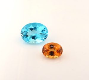 Imperial and Blue Topaz