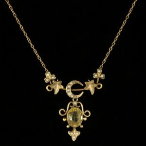 Victorian Jewellery with Citrine
