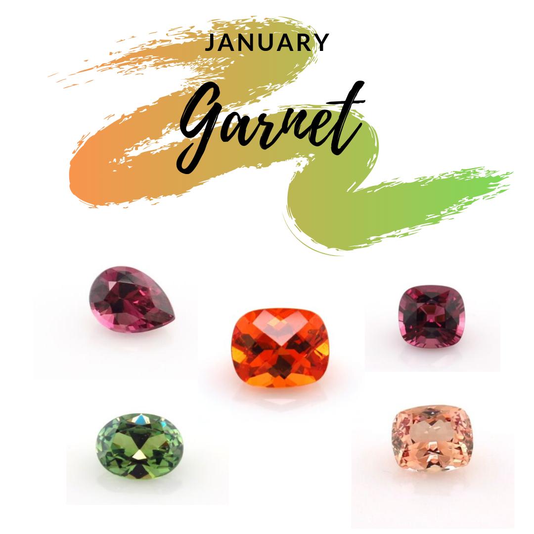 January Birthstones