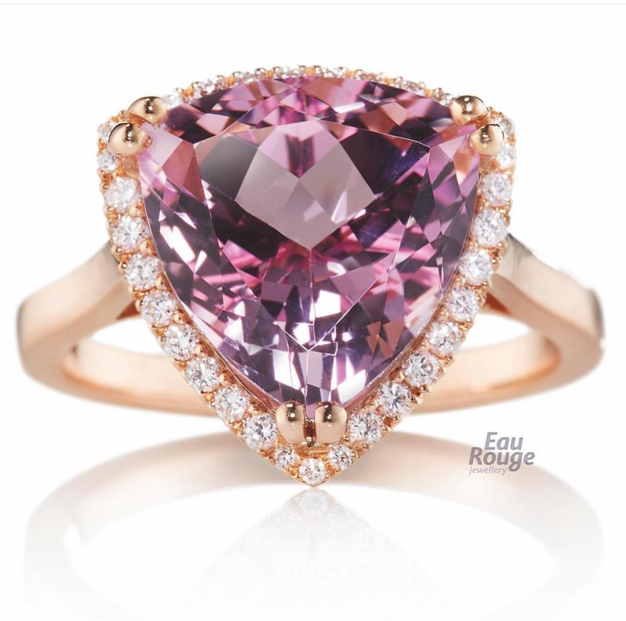 Morganite Ring by Eau Rouge