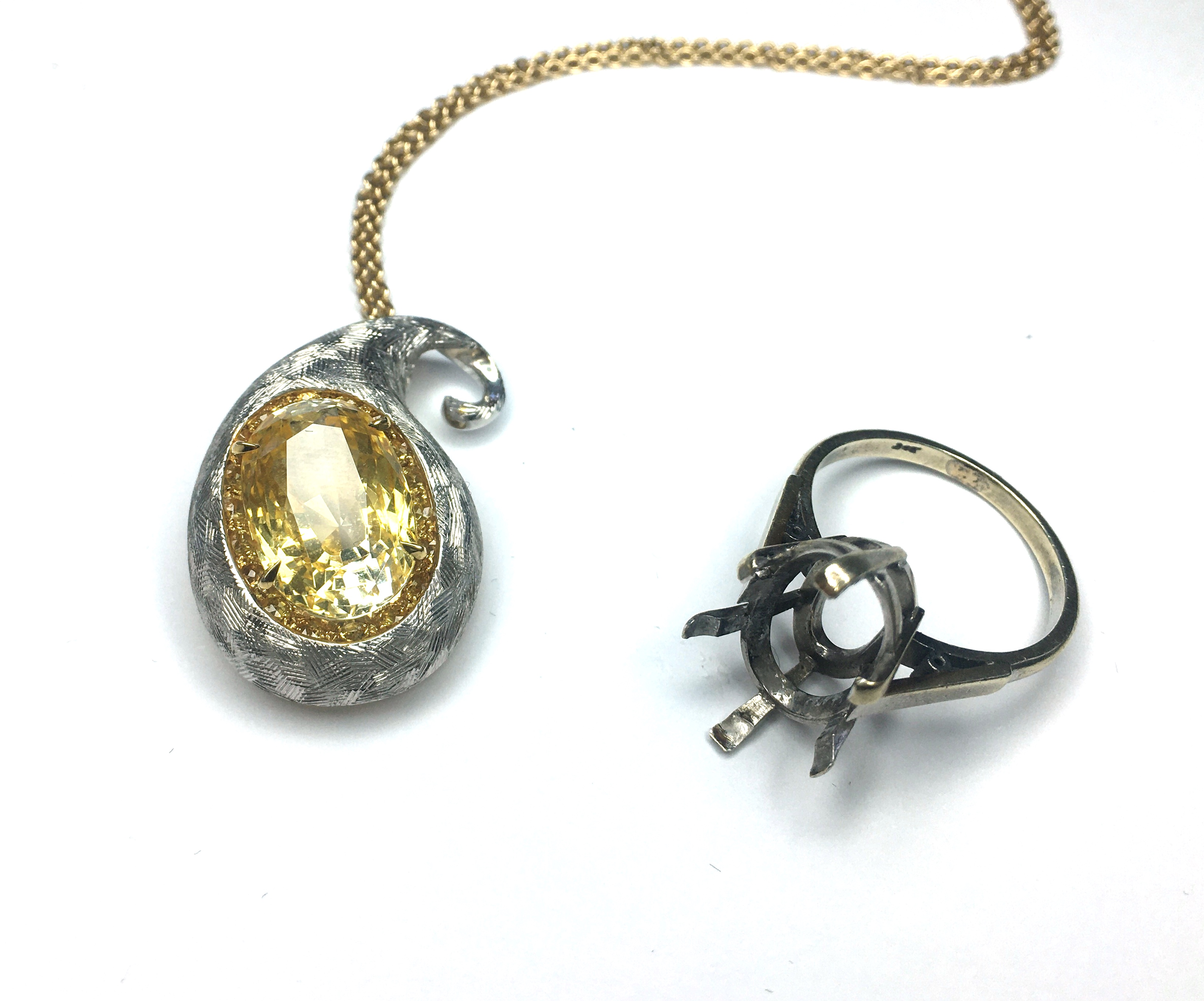 Recycled Yellow Sapphire
