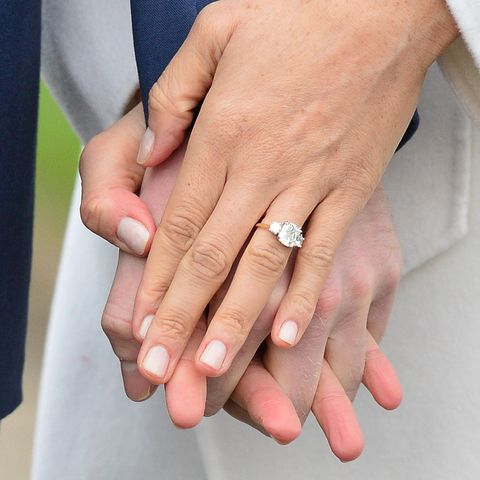 Meghan Markles engagement ring