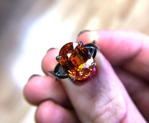 Which comes first – the gemstones or the design?