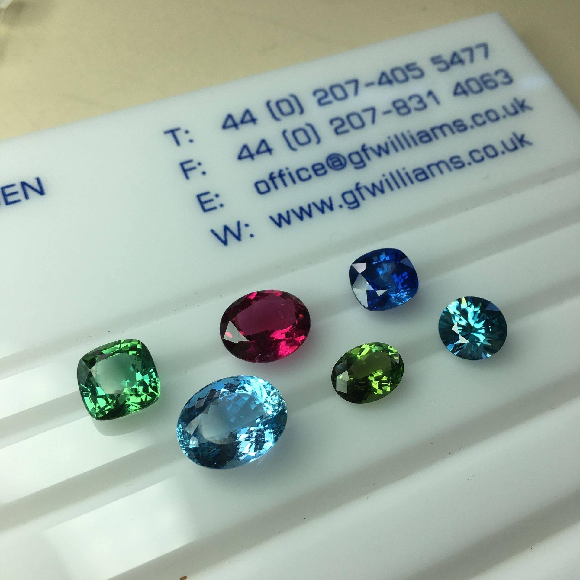 Coloured Gemstones